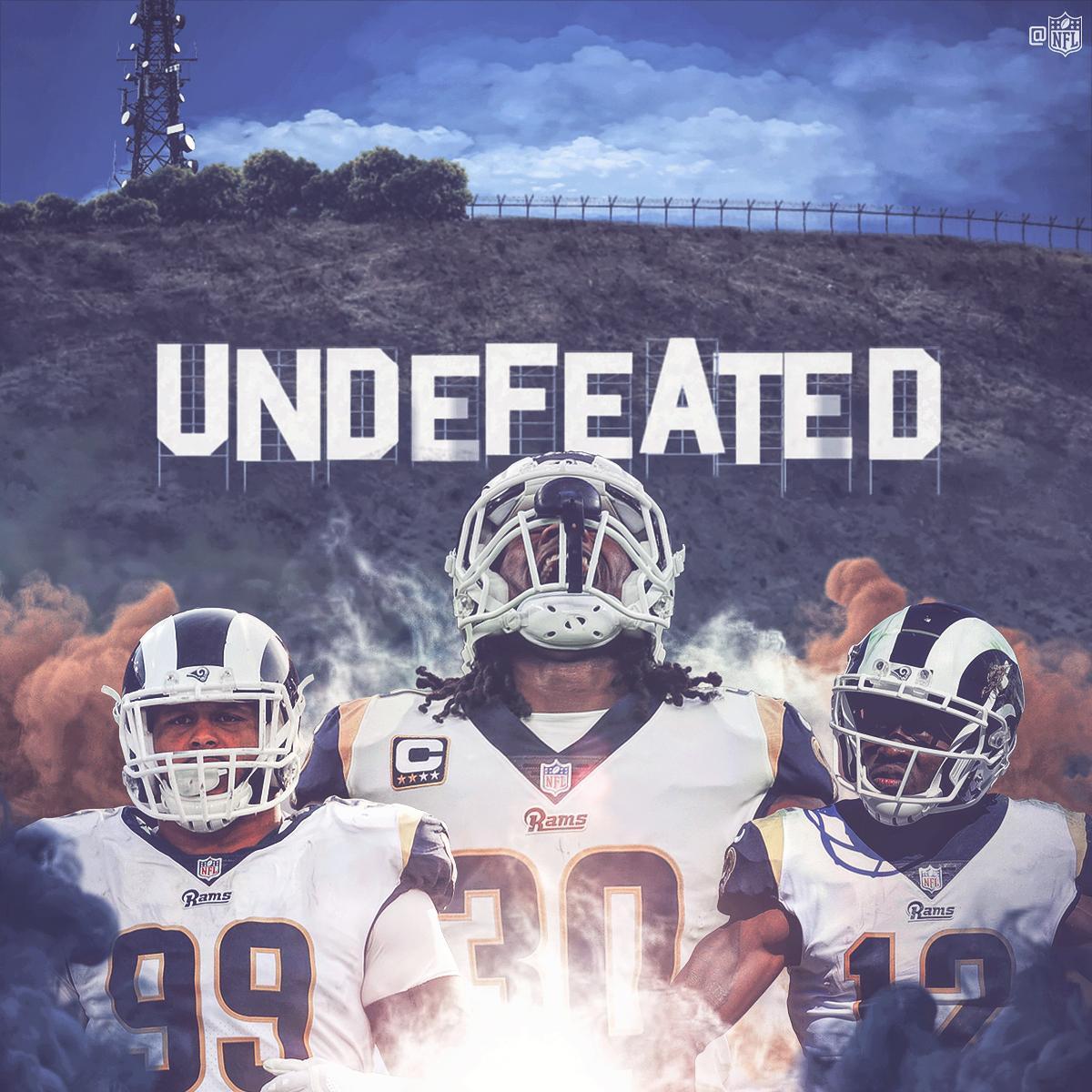Rams Run Ragged Over the Vikings