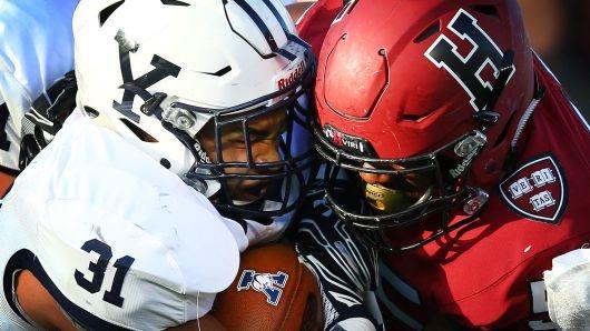 "Harvard unlock Yale in 2018's ""The Game"""