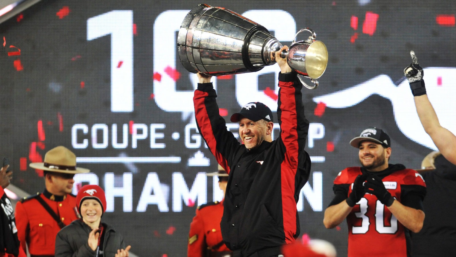 Stamp of authority: third time's a charm for Calgary as they claim The Grey Cup