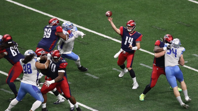 AAF Offering Redemption? Hackenberg Hopes So
