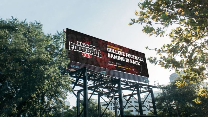 College Football gaming set to return with Maximum Football 2019