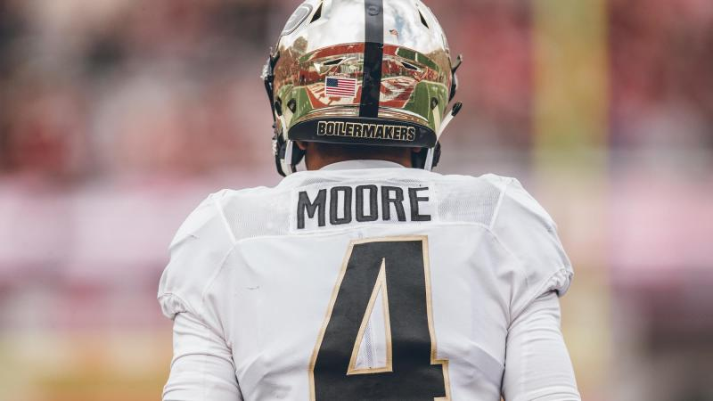 Rondale Moore is unique, he's a receiver with legitimate Heisman potential…