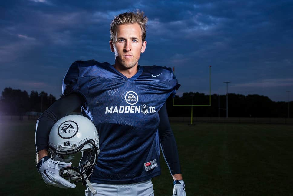 Kane The Latest Ambassador for the London NFL Academy.