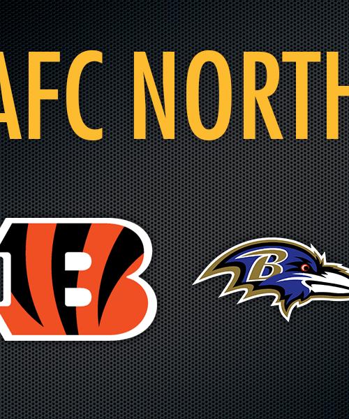 AFC North team logos