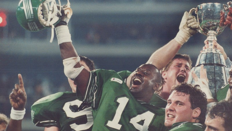 GREY CUP HISTORY: 30 YEARS AGO