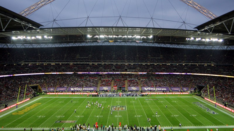Remembering the First NFLUK Match up with UK Fans