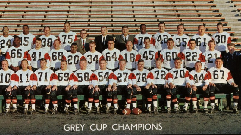 Their First Grey Cup - the 1964 BC Lions team