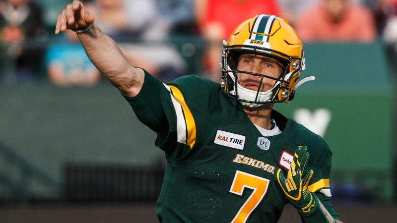 Trevor Harris is leading the 'Impossible Dream' for Edmonton