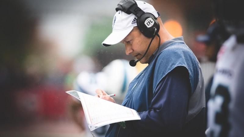 CFL coaching change