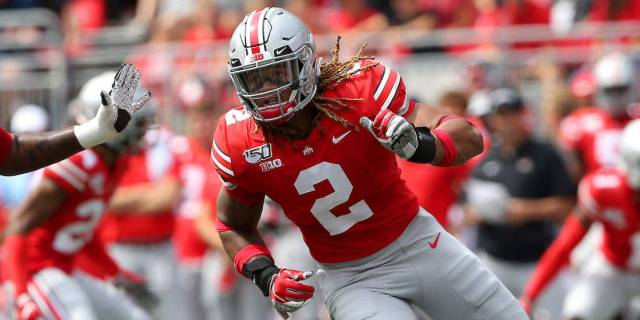 Chase Young has long been tipped to be a top pick in the 2020 NFL Draft. Image Credit: businessinsider.com