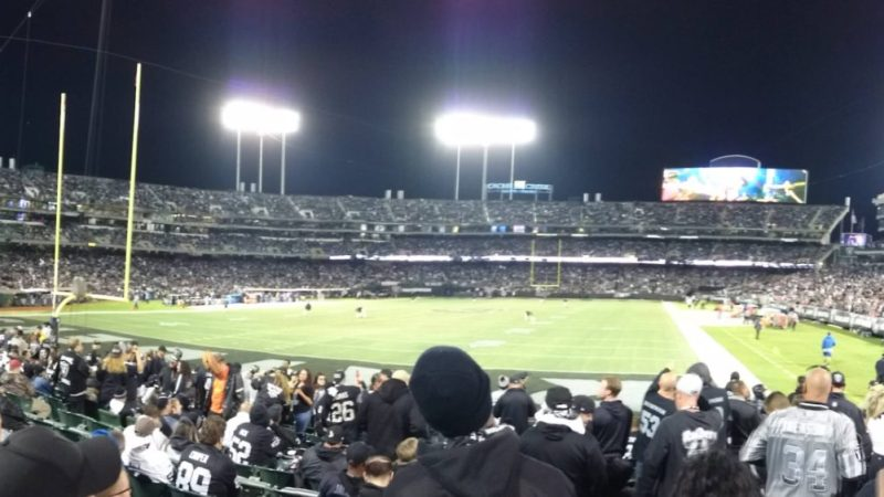 Raiders say farewell to Oakland