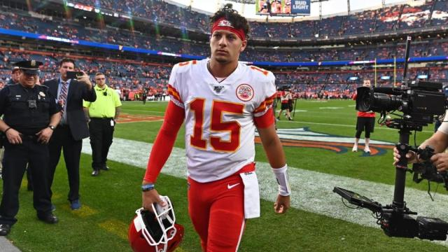 Currently favourite to be Super Bowl MVP, Pat Mahomes