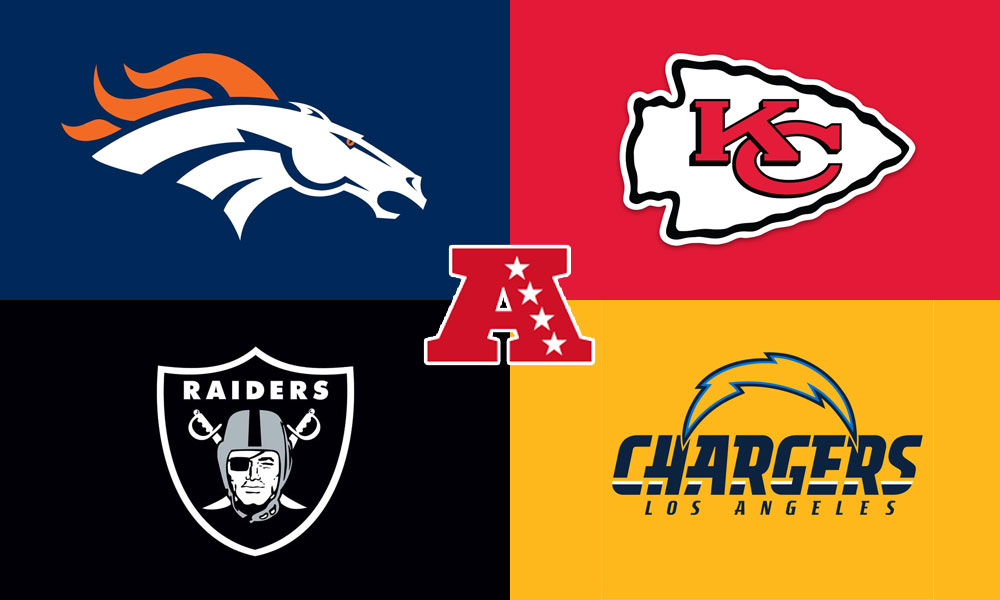 Ranking the NFL Divisions: The Wild Wild West!