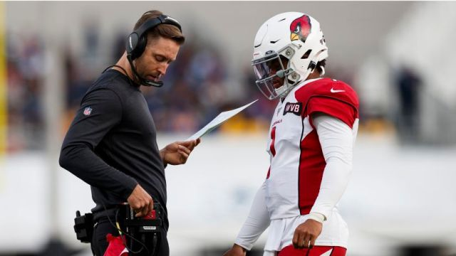Kliff Kingsbury and Kyler Murray are familiar with each other from their time at college.