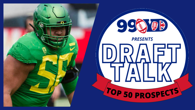 NFL Draft Top 50 Prospects