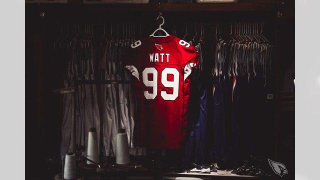 JJ Watt's Cardinals jersey