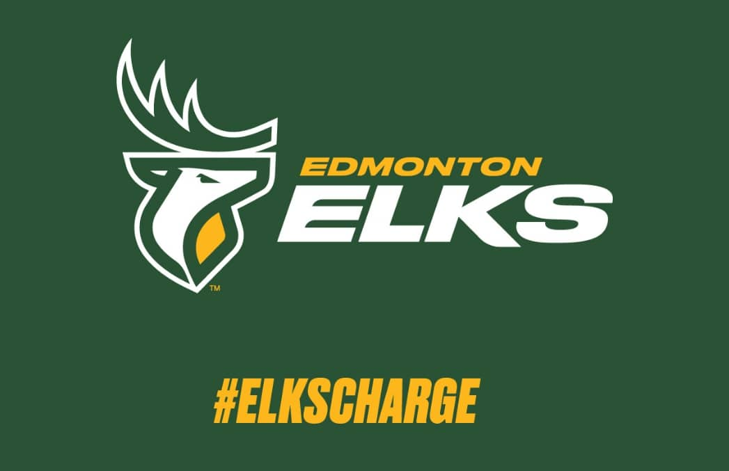 Edmonton Elks – It's official