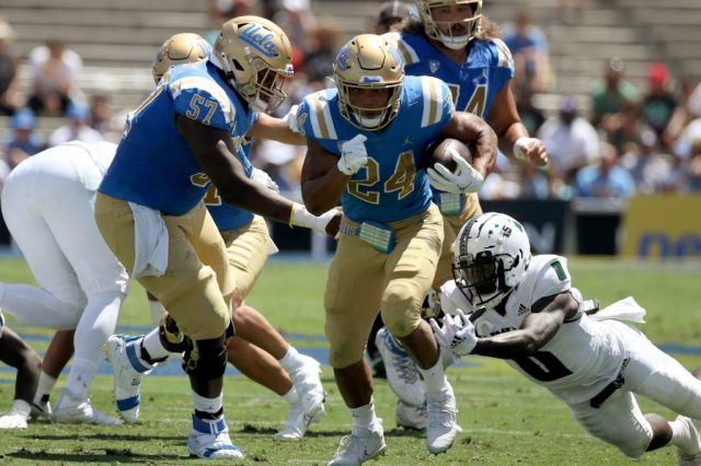 Zach Charbonnet was the star in college football week 0