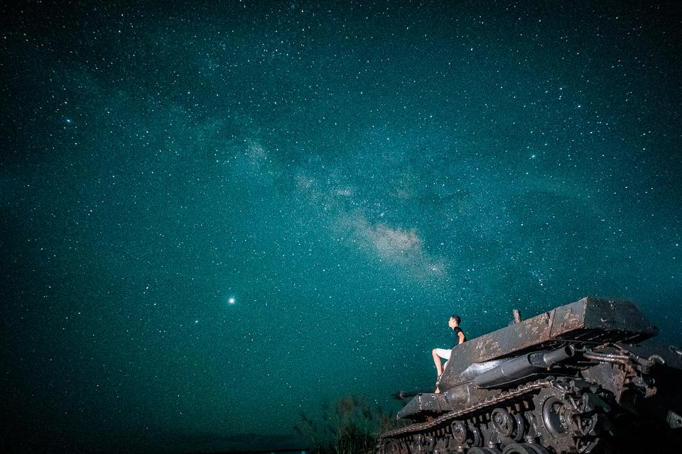 達人帶路追淚-銀河星空