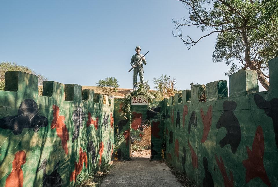 大坵堡的孤獨戰士