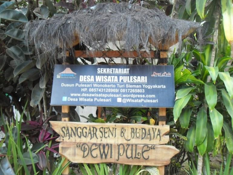 Seni di Desa Wisata Pulesari