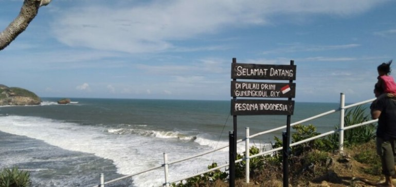 Pulau Drini Wonosari Gunung Kidul Yogyakarta