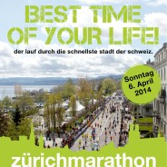 Zurich Marathon Teamrun, Switzerland, 2014