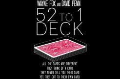 Review: The 52 to 1 Deck by Wayne Fox and David Penn