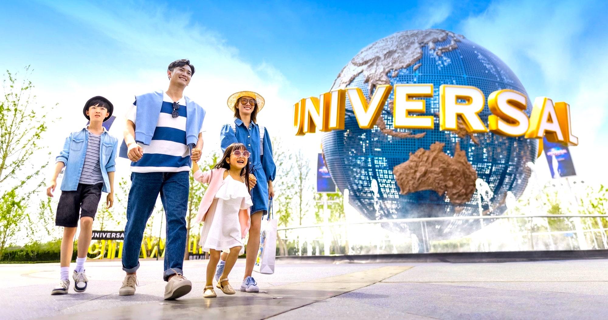 Universal Studios abre en China