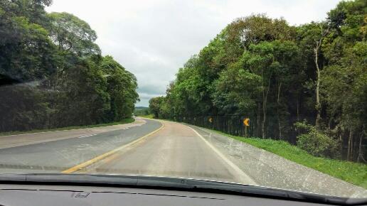 Trecho da BR-116 entre Curitiba e Lages