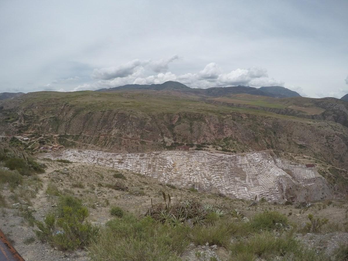Salineras de Maras no Peru