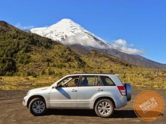 Vulcao Osorno no Chile de carro