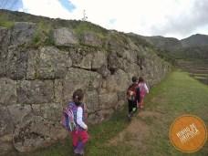 Tipon em Cusco com filhos
