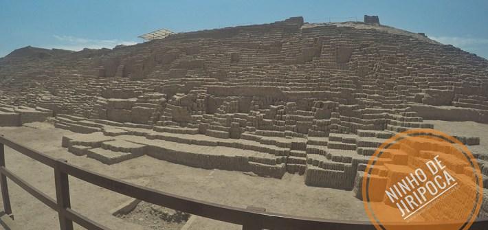 Sitio Arqueológico Huaca Pucllana em Lima