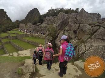 Passeio em Machu Picchu com crianças