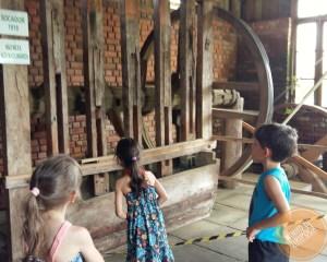 Casa da Erva Mate no Caminhos de Pedra em Bento Gonçalves com crianças