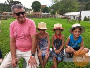 Atividades na Casa da Ovelha com crianças em Bento Gonçalves