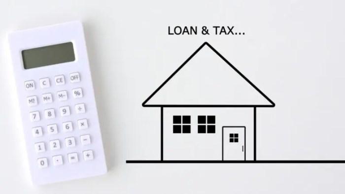 ローンと税金