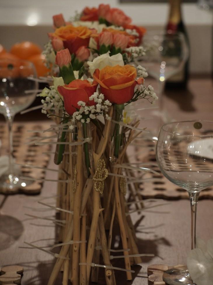 Rangkaian Bunga Rustik
