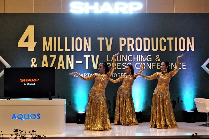 SHARP Indonesia Luncurkan TV Azan