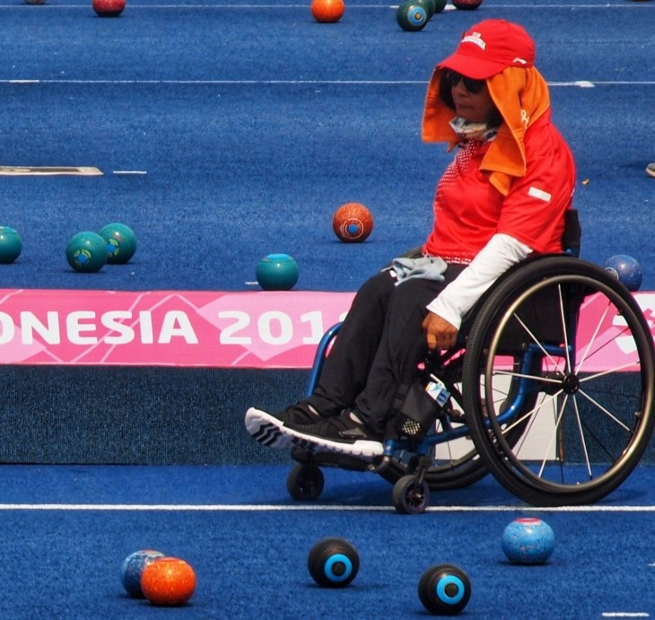 Lawn Bowls Asian Para Games 2018