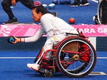 Atlet Lawn Bowls asal Korea