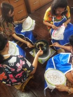 Workshop Membuat Batik Tulis Snediri