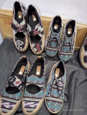 sepatu tenun kriyanusa2019