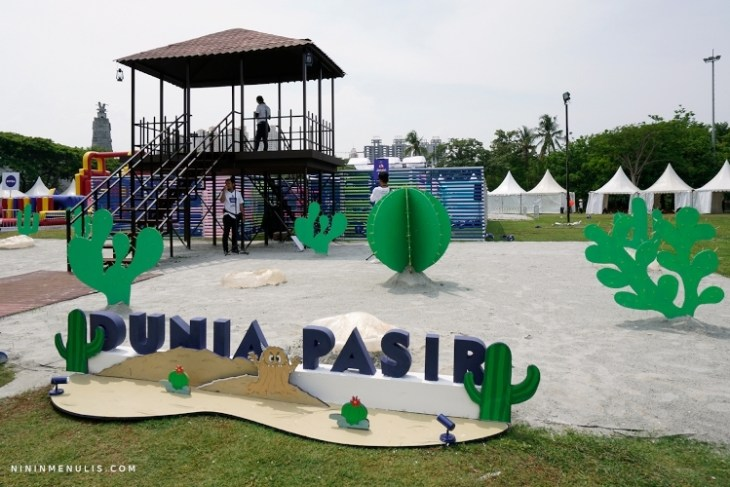 dunia pasir world of imagination