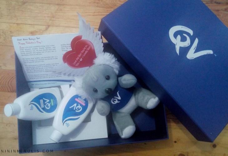 paket valentine dari qv