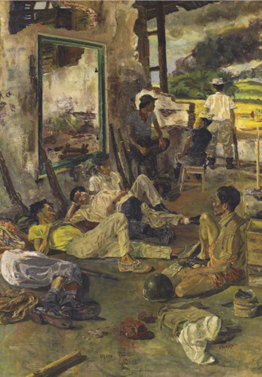 lukisan ngaso