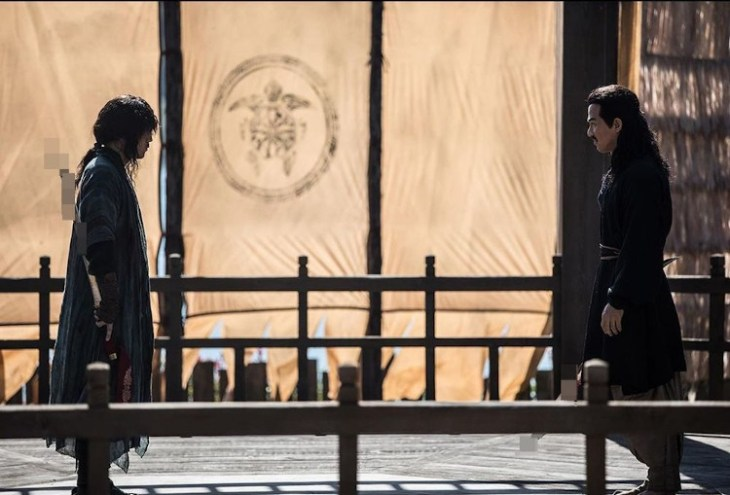 review film the swordsman 2020