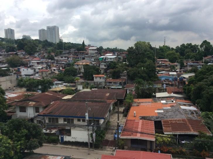 屋上から見える景色