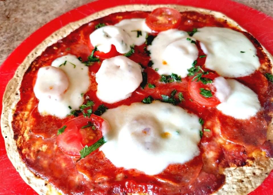 przepis, fit pizza